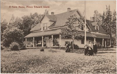 , A Farm Home, Prince Edward Island. (2616), PEI Postcards