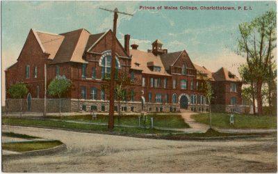 , Prince of Wales College, Charlottetown, P.E.I. (2615), PEI Postcards
