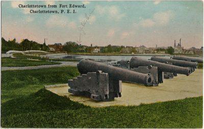 , Charlottetown from Fort Edward, Charlottetown, P.E.I. (2607), PEI Postcards
