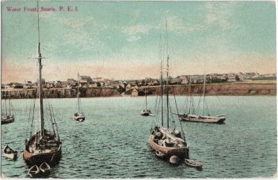 , Water Front, Souris, P.E.I. (2657), PEI Postcards