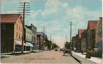 , Kent Street, Charlottetown, P.E.I. (2653), PEI Postcards