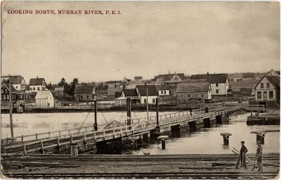 , Looking North, Murray River, P.E.I. (2707), PEI Postcards