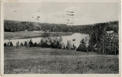 , West River, P.E. Island. (2705), PEI Postcards