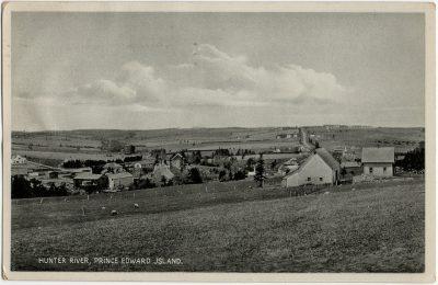 , Hunter River, Prince Edward Jsland {typo} (2687), PEI Postcards