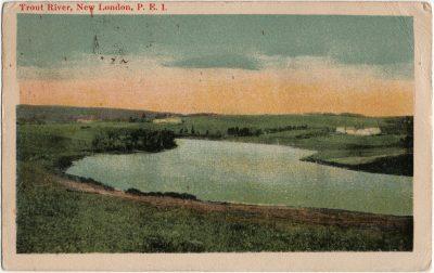 , Trout River, New London, P.E.I. (2685), PEI Postcards