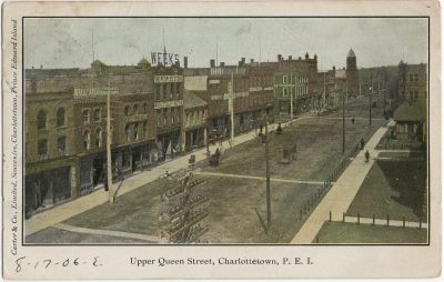 , Upper Queen Street, Charlottetown, P.E.I. (2682), PEI Postcards