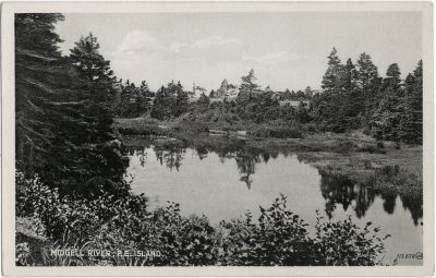 , Midgell River, P.E. Island (2683), PEI Postcards