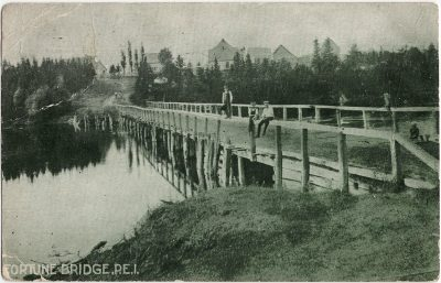 , Fortune Bridge, P.E.I. (2679), PEI Postcards