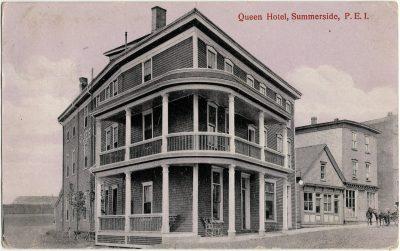 , Queen Hotel, Summerside, P.E.I. (2678), PEI Postcards