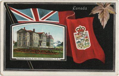 , Provincial Building & Law Court, Charlottetown, P.E.I. (2670), PEI Postcards