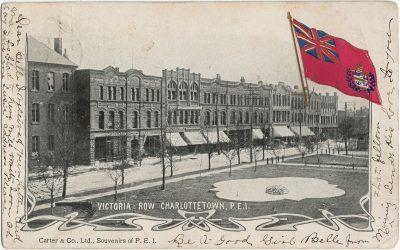 , Victoria Row, Charlottetown, P.E.I. (2663), PEI Postcards