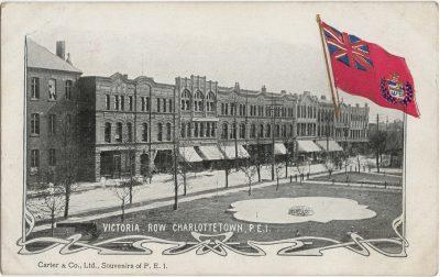 , Victoria Row, Charlottetown, P.E.I. (2661), PEI Postcards