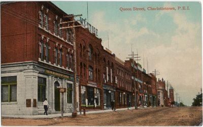 , Queen Street, Charlottetown, P.E.I. (2720), PEI Postcards