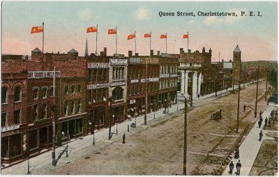 , Queen Street, Charlottetown, P.E.I. (2724), PEI Postcards