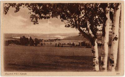 , Churchill, P.E.I., Canada (2732), PEI Postcards