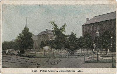 , Public Gardens, Charlottetown, P.E.I. (2733), PEI Postcards