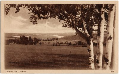 , Churchill, P.E.I., Canada (2738), PEI Postcards