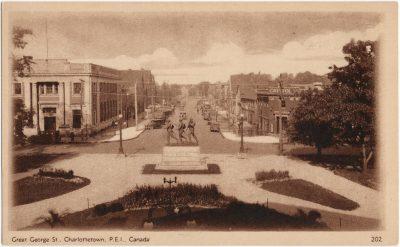 , Great George St., Charlottetown, P.E.I. Canada (2737), PEI Postcards