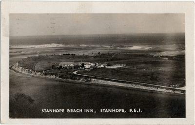 , Stanhope Beach Inn, Stanhope, P.E.I. (2741), PEI Postcards
