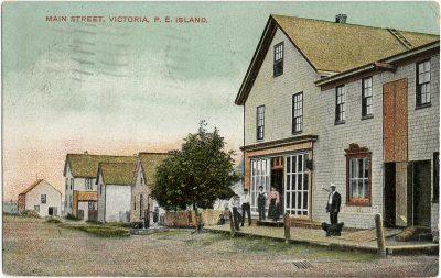 , Main Street, Victoria, P.E. Island (2708), PEI Postcards