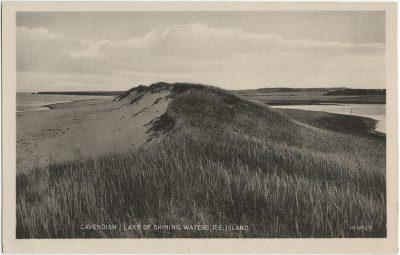 , Cavendish Lake of Shining Waters, P.E. Island. (2711), PEI Postcards