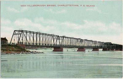 , New Hillsborough Bridge, Charlottetown, P.E. Island (2710), PEI Postcards