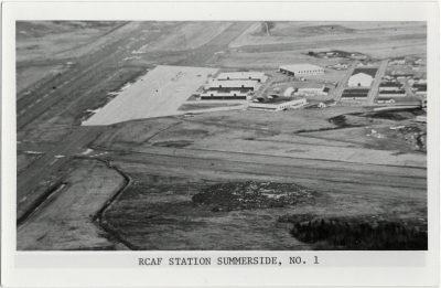 , RCAF Station Summerside, No. 1 (2761), PEI Postcards