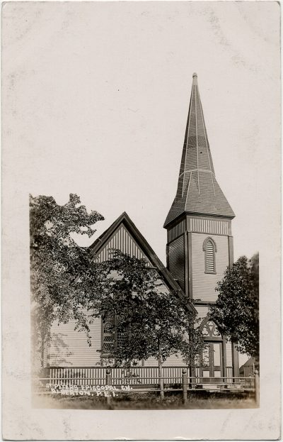 , St. Peter's Episcopal Ch. Alberton, P.E.I. (2775), PEI Postcards