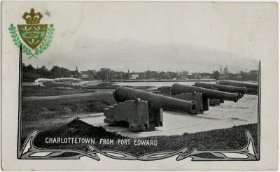 , Charlottetown from Fort Edward (2756), PEI Postcards