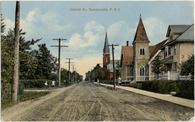 , Central St., Summerside, P.E.I. (2784), PEI Postcards