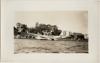 , Balbo flight – repairs in Victoria (2768), PEI Postcards