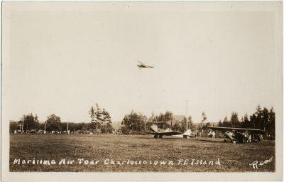 , Maritime Air Tour Charlottetown P.E. Island (2753), PEI Postcards