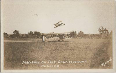 , Maritime Air Tour Charlottetown P.E. Island (2751), PEI Postcards