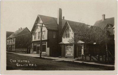 , Cox Hotel Souris, P.E.I. (2771), PEI Postcards