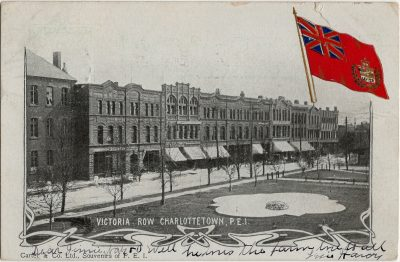 , Victoria Row Charlottetown, P.E.I. (2842), PEI Postcards
