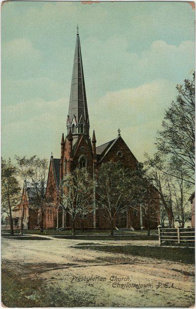 , Presbyterian Church, Charlottetown, P.E.I. (2793), PEI Postcards