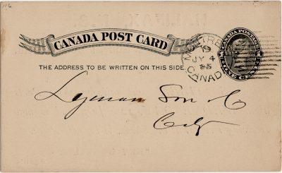 , Canada Post Card (2839), PEI Postcards