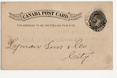 , Canada Post Card (2837), PEI Postcards