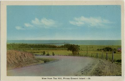 , View from Tea Hill, Prince Edward Island. (2844), PEI Postcards