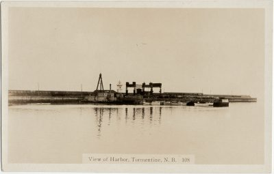 , View of Harbor, Tormentine, N.B. (2834), PEI Postcards