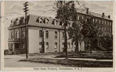 , Notre Dame Academy, Charlottetown, P.E.I. (2843), PEI Postcards