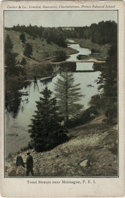 , Trout Stream near Montague, P.E.I. (2824), PEI Postcards
