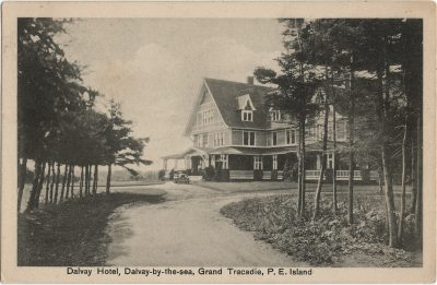 , Dalvay Hotel, Dalvay-by-the-sea, Grand Tracadie, P.E. Island (2815), PEI Postcards