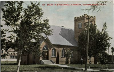 , St. Mary's Episcopal Church, Summerside, P.E.I. (2806), PEI Postcards