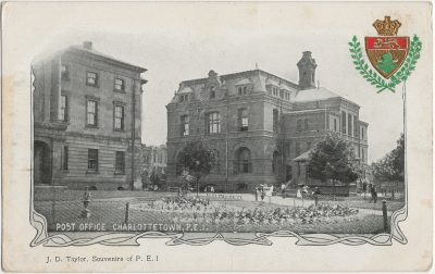 , Post Office Charlottetown, P.E.I. (2808), PEI Postcards