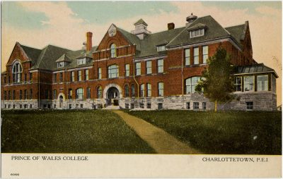 , Prince of Wales College Charlottetown, P.E.I. (2801), PEI Postcards