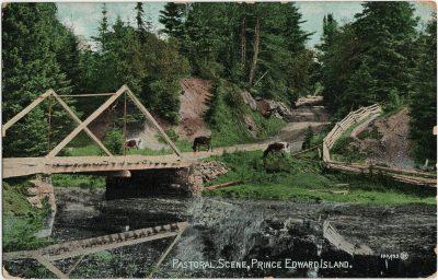 , Pastoral Scene, Prince Edward Island. (2803), PEI Postcards
