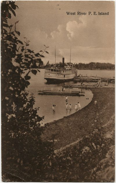 , West River, P.E. Island (2885), PEI Postcards