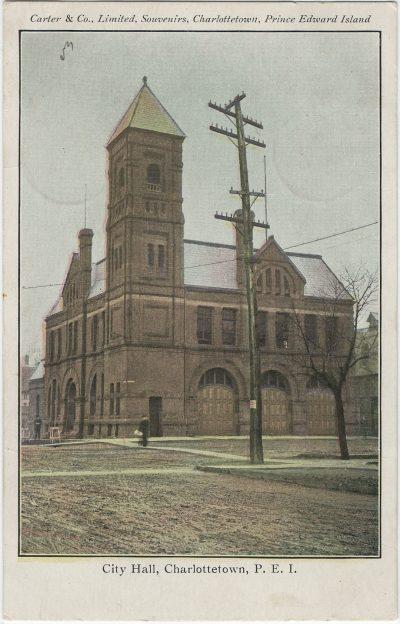 , City Hall, Charlottetown, P.E.I. (2891), PEI Postcards