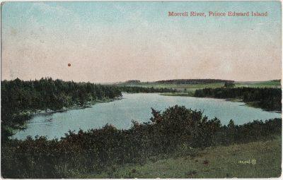 , Morrell River, Prince Edward Island (2883), PEI Postcards